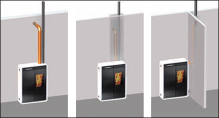 edilkamin pelletofen tiny 9 kw keramik rot reifenberg. Black Bedroom Furniture Sets. Home Design Ideas